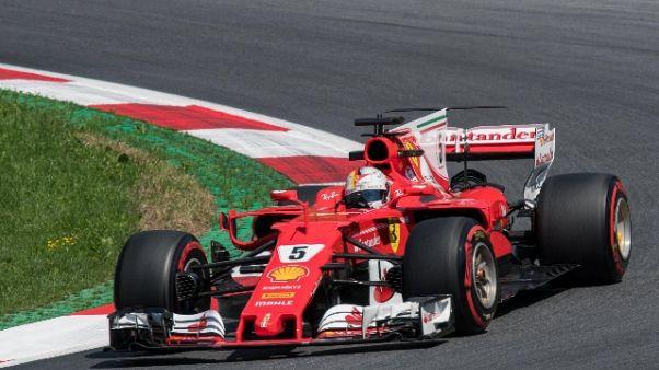 Vettel,macchina ha dato buone sensazioni