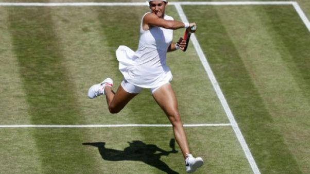 Wimbledon: Garcia affrontera Konta pour une place en quarts