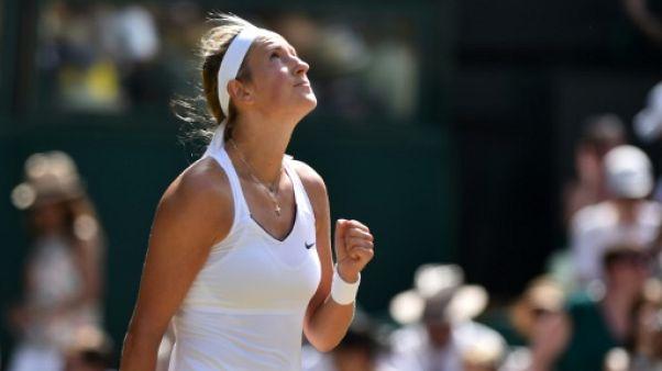Wimbledon: Azarenka domine Watson et va en 8e