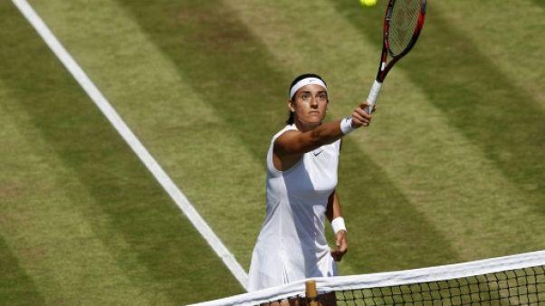 "Wimbledon: ""Une étape importante"" poour Caroline Garcia"