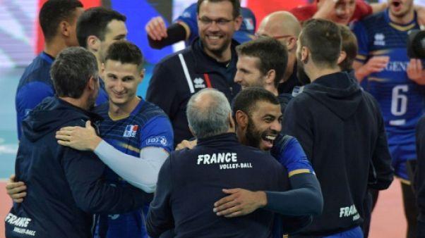Volley: la France rejoint le Brésil en finale de la Ligue mondiale