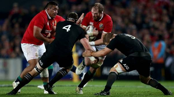 Rugby: All Blacks-Lions 15-15