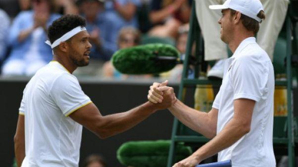 Wimbledon: c'est fini pour Tsonga et Monfils
