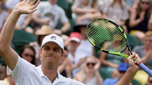 Wimbledon: Querrey batte Tsonga, è a 8/i