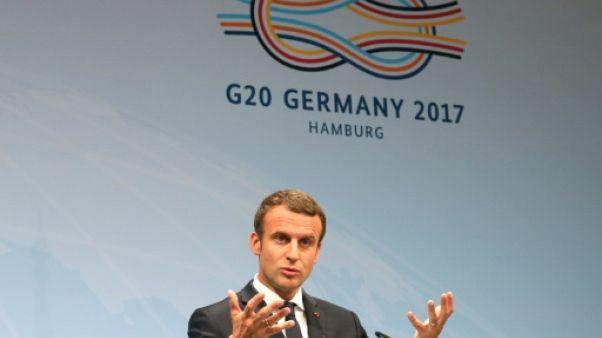 """G20: Macron annonce un """"sommet d'étape"""" sur le climat le 12 décembre"""