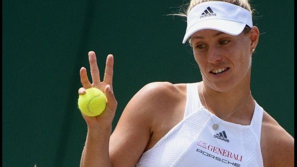 Wimbledon: Kerber e Muguruza agli ottavi