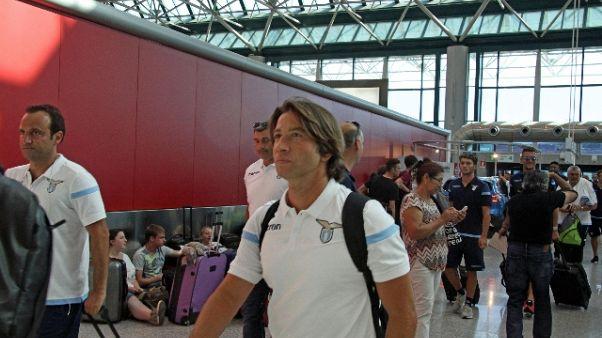 Lazio partita per il ritiro ad Auronzo