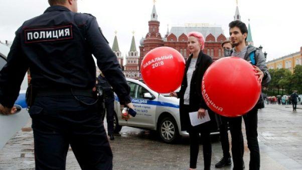 Russie : 70 partisans de l'opposant Navalny arrêtés à Moscou