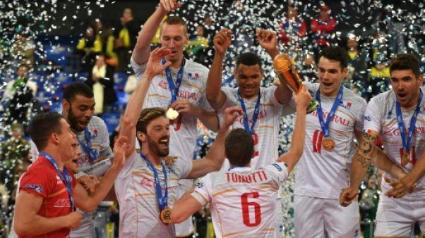 Volley: les Bleus remportent leur deuxième Ligue mondiale au Brésil