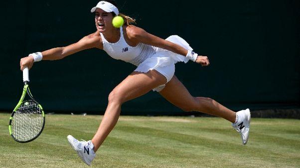 Wimbledon, l'infortunio di Mattek Sands