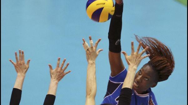 Volley rosa,a Grand Prix vittoria Italia