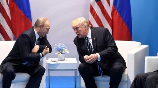 """Trump: il est temps de travailler de manière """"constructive"""" avec Moscou"""