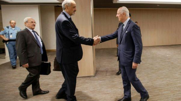 Syrie: reprise des pourparlers de paix à Genève