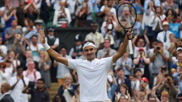 """Wimbledon: le Big Four à l'heure au rendez-vous du """"Manic Monday"""""""
