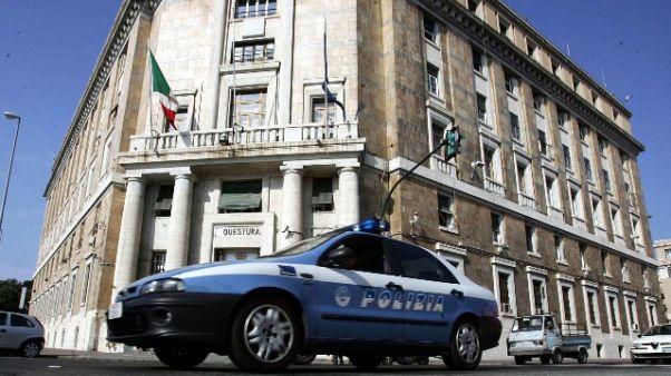 Rissa volontari ambulanze Genova-Milano