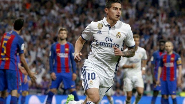 Bayern, parte assalto a James Rodriguez