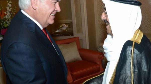 Golfe: Tillerson espère faire des progrès pour une sortie de crise