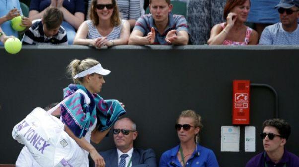 Wimbledon: Kerber, éliminée par Muguruza, en 8e, va perdre sa place de N.1