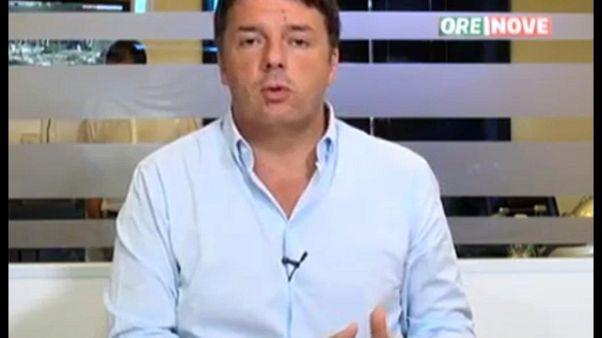 Renzi, assegno universale per i figli