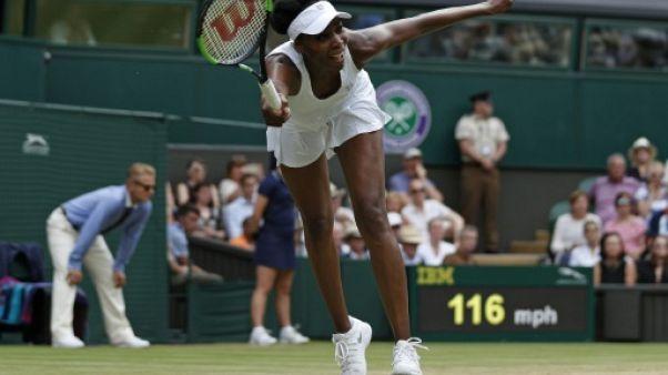 Wimbledon: Venus Williams en quarts de finale