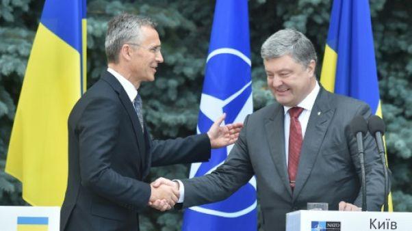 """L'Otan soutient Kiev face aux """"actions agressives"""" de la Russie"""