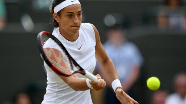 Wimbledon: Garcia s'arrête en 8e