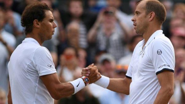 Wimbledon: Nadal a cédé, retrouvailles Federer-Raonic