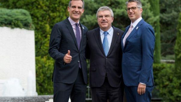 """JO-2024: Los Angeles veut créer """"de nouveaux Jeux pour une nouvelle ère"""", déclare Wasserman"""