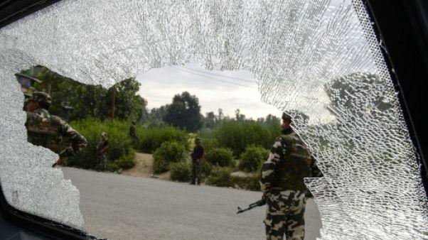 Condamnations en Inde après l'attaque de pèlerins au Cachemire