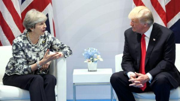 La visite de Trump au Royaume-Uni reportée à 2018