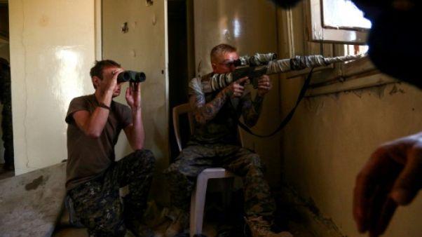 Syrie: 2 Américains, 1 Britannique tués sur le front de Raqa