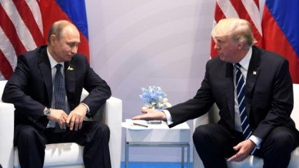 Rencontre au sommet américano-russe le 17 juillet à Washington