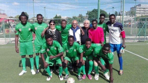 Calcio, squadra migranti in Promozione