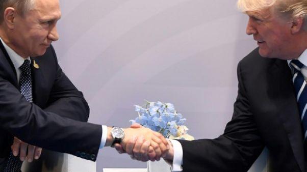 Une collusion avec Poutine ? Trump trouve l'idée absurde