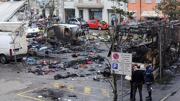 Esplosione al mercato, condanna a 8 anni