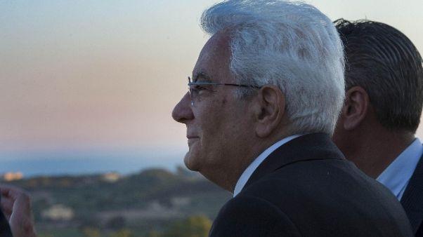 Mattarella firma legge Comm. su banche