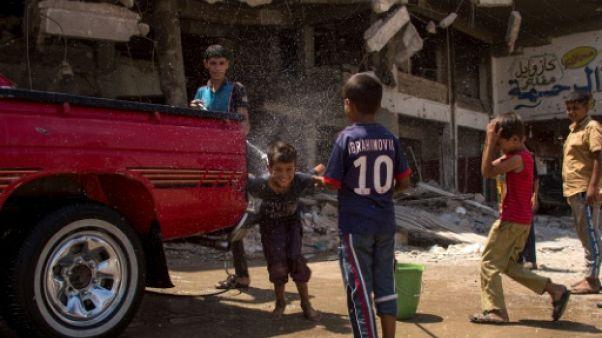 A Mossoul dévastée, on rêve de reconstruction et d'une vie normale