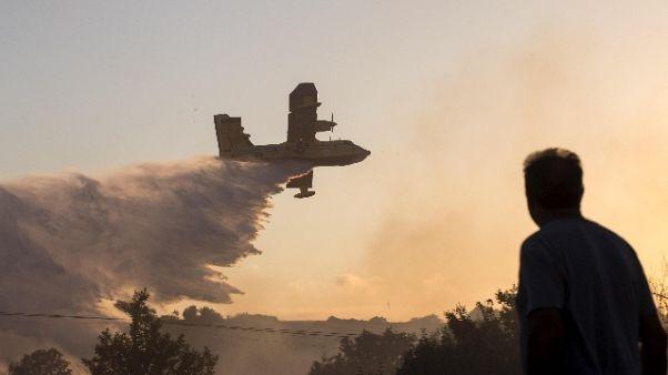 Incendi: massima allerta in Gallura