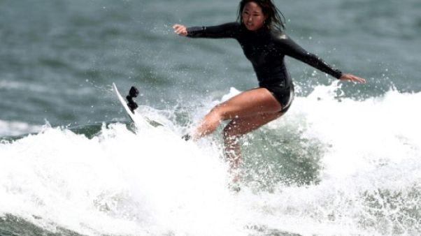 JO-2020: la jeune reine japonaise du surf rêve d'or