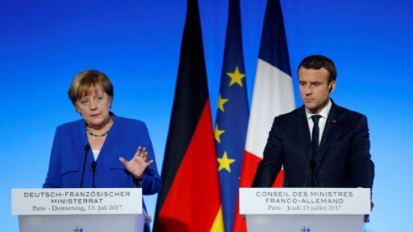 Paris et Berlin veulent développer en commun un avion de combat