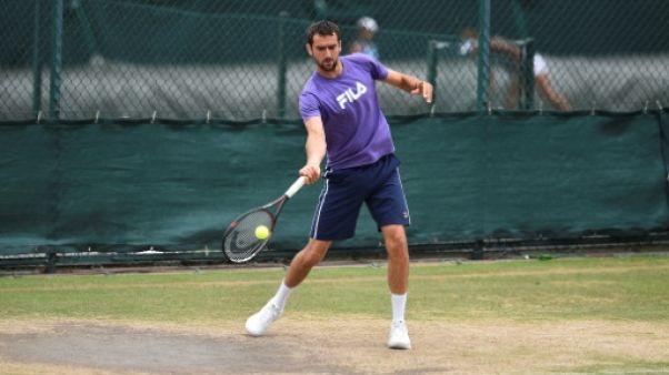 Wimbledon: Medjugorje, ville de miracles, en attend un de Cilic