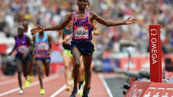 Athlétisme: Mo Farah, le roi du fond, dira adieu à la piste à Birmingham