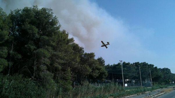 Incendi: a Metaponto evacuati 2 camping