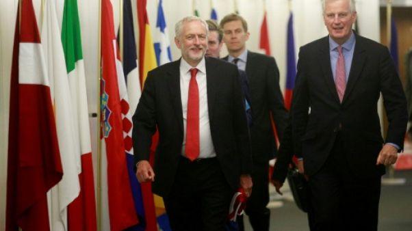 """L'UE veut une """"bonne relation"""" avec Londres après le Brexit, assure Corbyn"""