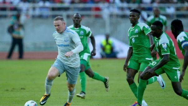 Rooney marque pour Everton en amical en Tanzanie