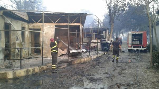 Incendio a Metaponto: nessun ferito