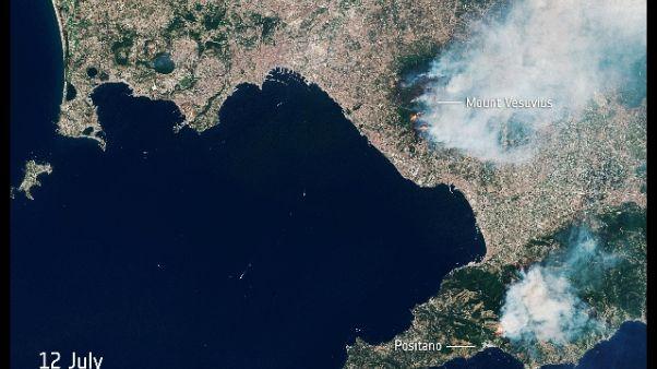Incendi: estinte fiamme a San Giuseppe