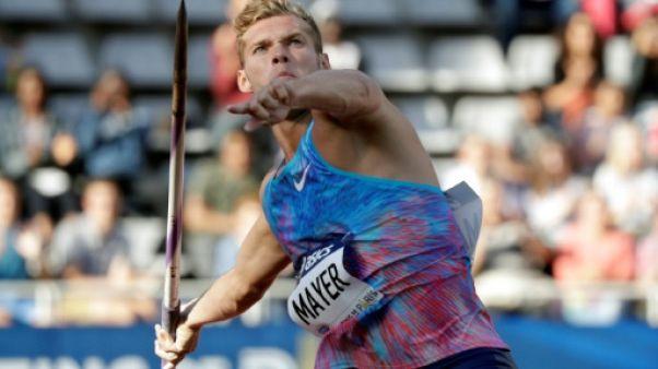 Athlétisme: Kevin Mayer, la valeur sûre aux Championnats de France