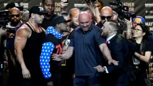 Boxe: pour Mayweather, McGregor est un lâche