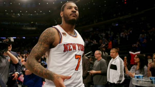 NBA: volte-face des Knicks pour Carmelo Anthony (presse)
